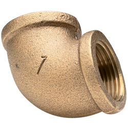 Bronze 90-Degree Elbows