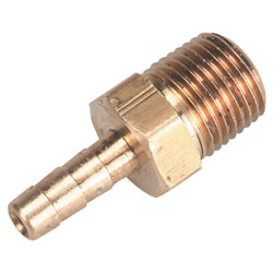 Brass Male Pipe-to-Hose, NPT