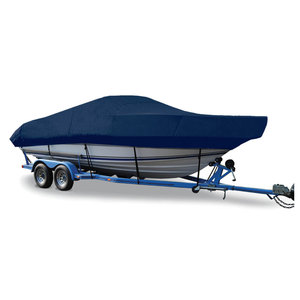 "Walk-Around Cuddy Cover, OB, Navy Blue, Hot Shot, 22'5""-23'4"", 102"" Beam"