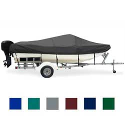 "Tri-Hull Cover, OB, Black, Hot Shot, 16'0""-17'0"", 82"" Beam"