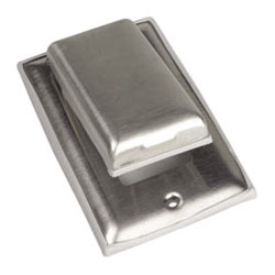 GFCI Outlet Cover - Stainless Steel