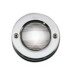 "Vertical Flush Mount Stern Light, 3"" Outside Diameter x 1"" D"