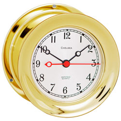 Shipstrike Series Brass Clock