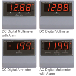 Digital Electrical Meter Series