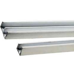 "Double Channel-Mate Glass Channel, 13/16""W"
