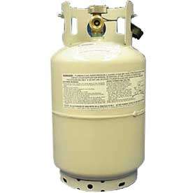 Worthington 11lb. Powder-Coated Steel LPG Cylinder