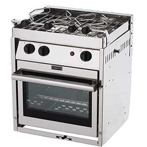 Two-Burner Gourmet Galley Gimbaled Propane Ranges
