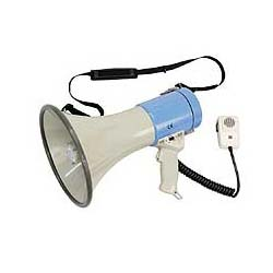 SHOW Megaphone, 25W, Battery Powered