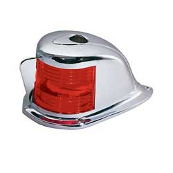 Chrome-Plated Bi-Colored Bow Light