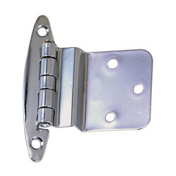 "CP Brass Inset Hinge - 2.75"" H x 2.125"" W"