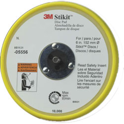 Soft Disc Pad - Low Profile, 6""