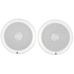 "Dual-Cone 6"" Low-Magnetic Integral Grille Speakers"