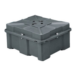 Todd 8d High Double Battery Box