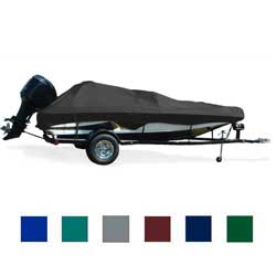 "Fish and Ski Cover, OB, Pacific Blue, Hot Shot, 16'5""-17'4"", 84"" Beam"