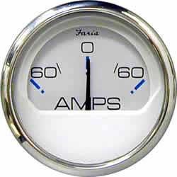 Faria Instruments Ammeter, Chesapeake White SS, 2, 26# Sale $38.99 SKU: 2435444 ID# 13831 UPC# 759266138315 :