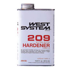 West System #209-SE Extra Slow Hardener, 17.34 Gallons