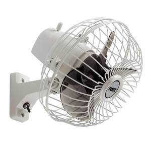 Fixed-mount Oscillating Fan, 12V