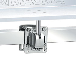 Single Side/Bulkhead or Square/Flat Rail Mount for Magma Rectangular Grill