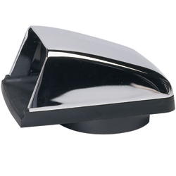 Chromed Zinc Cowl Vent