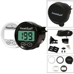 D10D Hawkeye Digital Depth Sounder, Transom-mount/In-hull