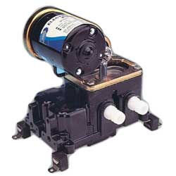 "Diaphragm Bilge Pump, 8gpm, 3/4"" Port"
