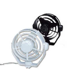 Black Turbo Fan, 24V DC