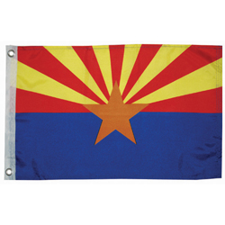 "Arizona State Flag, 12"" x 18"""