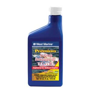 Premium 2-Cycle TC-W3 Outboard Oil, Pint