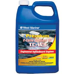 Premium TC-W3 2-Cycle Outboard Oil