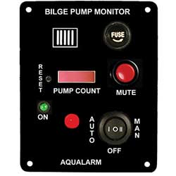 Bilge Pump Monitor, Alarm and Counter