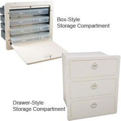 Ready-Made Polyethylene Storage Compartments