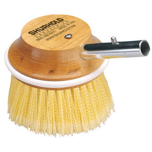 "5"" Round 50 Special Application Deck Brush, Yellow"