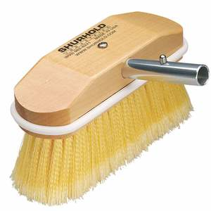 "8"" 308 Special Application Deck Brush, Yellow"