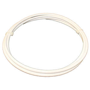 "Vinyl-Coated Yacht Rigging Lifeline Cable, 1/4"" Wire Dia., 3/8"" Jacketed Dia."