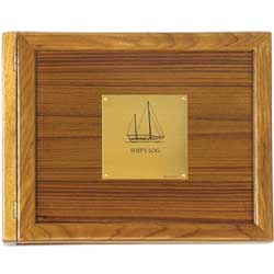 Sailboat Teak Log Cover