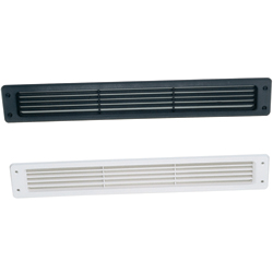 Louvered Vent, White