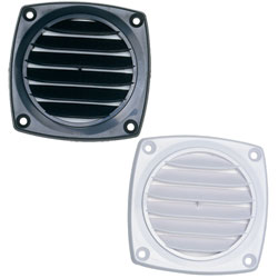Louvered Flush Hose Vents
