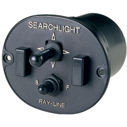 Searchlight 2-Speed, Dash-Mount Remote Control