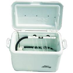Marine metals super saver pump kit west marine for Portable fish livewell