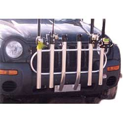 Anglers Bumper Mount 6-Rod Rack