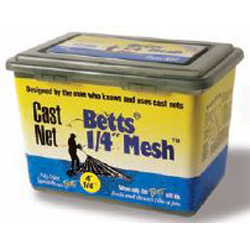 "Betts 1/4"" Mesh Professional Series Bait Nets"