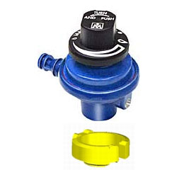 "Control Valve Regulator with ""Camping Gaz"" International Collar"
