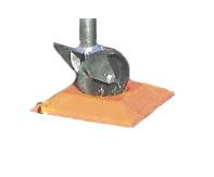Marine Technologies Trailer Dock - Jackstand Wheel/Pad