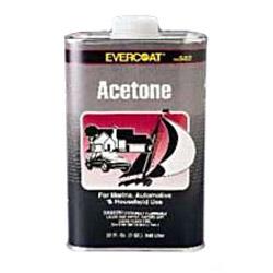 Evercoat Acetone - Quart