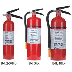 Premium Metal Valve Refillable Fire Extinguishers