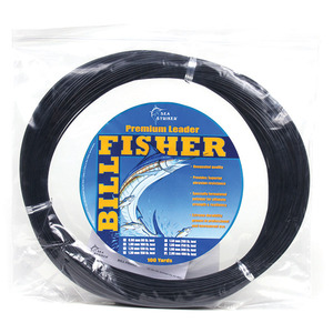 Monofilament Leader Coil, Black, 400Lb, 100Yds, 2.00mm