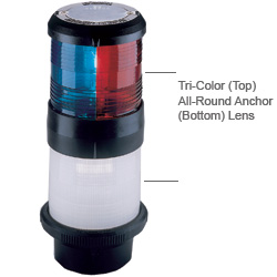 Aqua Signal Port Light Lens (Red) with Black Housing for Series 40 Sale $99.99 SKU: 6839641 ID# 40310-1 UPC# 54628403101 :