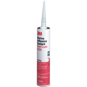 5200 Fast Cure, White, Polyurethane Adhesive/Sealant, 10oz. Cartridge