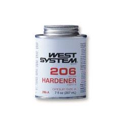 West System #206-E Slow Hardener, 11.15gal.