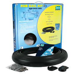 Flexible Vinyl Rub Rail Replacement Kits with Inserts